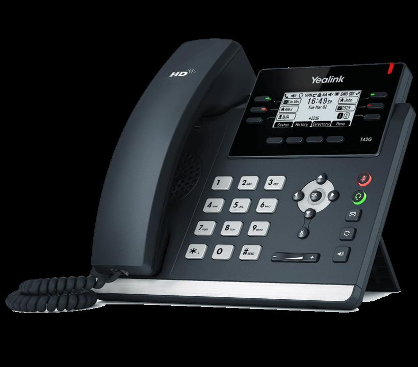yealink-t42-telephonie-trustinfo-Mulhouse