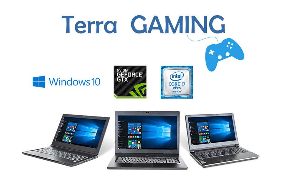 ordinateurs portables gaming terra
